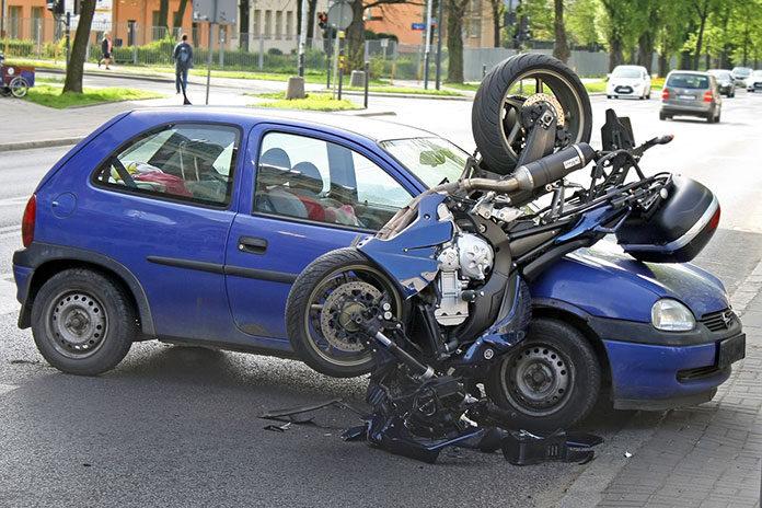 Stłuczka samochodowa